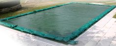 Coperture invernali per piscina con tubolari/salsicciotti/salamotti