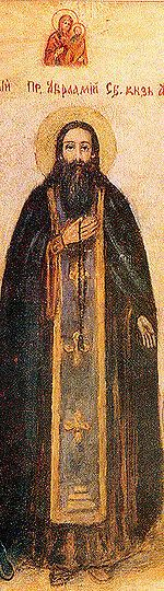 St. Abraham of Smolensk pray for us.  Feast day August 21.