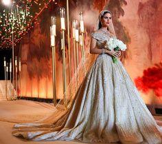 La Robe de Cette Mariée Libanaise Était Si Magique Qu'elle a Eu le Droit à Son Propre Hashtag