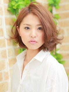 【SG】大人愛されSWEETミディアム | 新宿の美容室 AUBE hair lagoon 新宿3号店のヘアスタイル | Rasysa(らしさ)