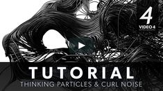 How to create particle trails with a curl noise effector. (Without X-particles) Download this FREE xpresso script: https://github.com/CreativeTools/ct-curl-noise