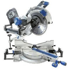 Kobalt 12-in 15 Amp Dual Bevel Slide Compound Laser Miter Saw