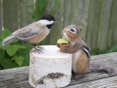 Your place to buy and sell all things handmade Needle Felted Animals, Felt Animals, Needle Felting, Small Animals, Baby Animals, Shetland Wool, Felt Mouse, Felt Cat, Squirrels