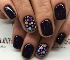 60 Polka Dot Nail Designs for the season that are classic yet chic - Hike n Dip . 60 Polka Dot Nail Designs for the season that are classic yet chic - Hike n Dip . Fancy Nails, Pink Nails, Pretty Nails, Black Shellac Nails, Cheetah Nails, Dot Nail Art, Polka Dot Nails, Confetti Nails, Dot Nail Designs