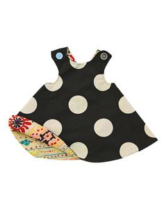Right Bank Babies Reversible Smock Dress