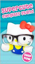 hello kitty eyeglasses stand: classic
