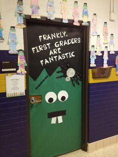 Classroom Door Decorations For Halloween fall door decoration ideas for the classroom | thanksgiving, doors