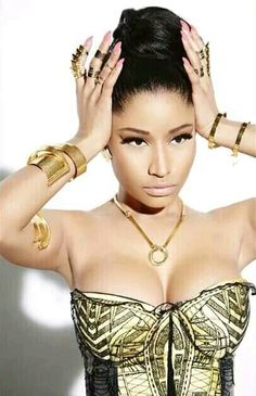 Nicki minaj, say what you will about her, but she is insanely talented at what she does and her take no prisoners rap has become my go to get pumped music, now if only my scrawny white butt could twerk