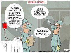Igor Clayton Cardoso: ECONOMIA BRASILEIRA em Estado Grave…