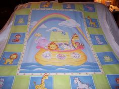 Baby Precious Moments 2009 Noah's Ark And Animals Baby by quilty61, $9.99