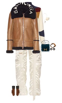 """Untitled #3787"" by stylebyfashionmerger ❤ liked on Polyvore featuring Stella Jean, Balenciaga, Gucci, Foundrae, Pippa Small, Roberto Coin, Anyallerie and Audemars Piguet"
