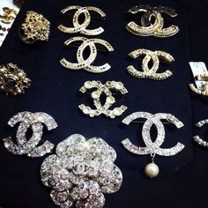 Chanel broaches