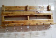 madeira porta copos