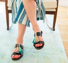 Püsküllü Sandalet Yapımı #püsküllü #sandalet #kendinyap #diy #terlik #yapımı