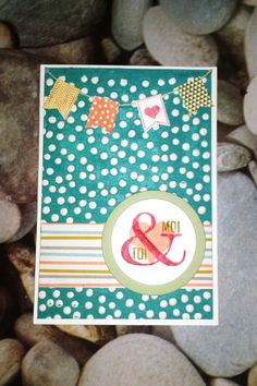 Une jolie carte Stampin'Up !  A nice Stampin'Up! card