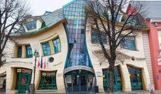 Casa torcida-Sopot, Polonia