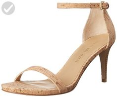 Stuart Weitzman Women's Nunaked Heeled Sandal, Natural, 10 M US - All about women (*Amazon Partner-Link)