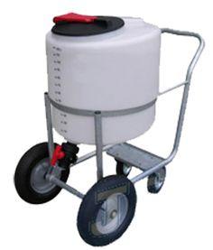 Milk Taxi Wózek do Przewozu Mleka 125l z Mikserem i Dystrybutorem JFC