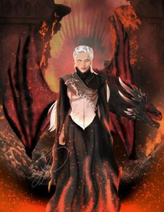 Paintings and drawings inspired by the book series A Song of Ice and Fire and the television show Game of Thrones. Arte Game Of Thrones, Game Of Thrones Artwork, Game Of Thrones Houses, Emilia Clarke, Daenerys Targaryen Art, Khaleesi, Character Inspiration, Character Art, Game Of Trones