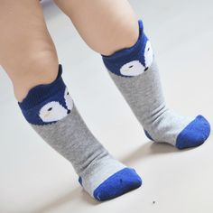Find More Socks Information about 2016 New Arrival Anti Slip Baby Socks High Knee Socks Lovely Animal Fox Meia For Baby Girls Boys NewBorn Long socks Cotton Brand,High Quality socks men small feet,China sock happy Suppliers, Cheap socks skiing from Dreamy Garden on Aliexpress.com
