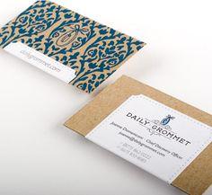 business card barock