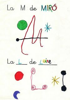LA CLASE DE MIREN: mis experiencias en el aula: PROYECTO JOAN MIRÓ: DOSSIER DESCARGABLE Y RECOPILACIÓN DE LAS MEJORES ACTIVIDADES. Social Emotional Activities, Chalk Lettering, Spanish Culture, Ecole Art, Joan Miro, Gaudi, Art For Kids, Activities For Kids, Arts And Crafts