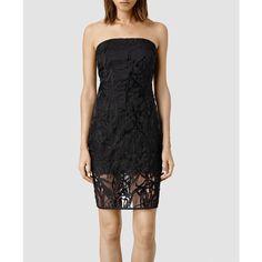AllSaints Iree Dress (£200) via Polyvore
