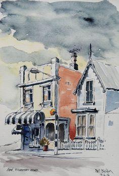 Phil Dickson - artist based in Lower Hutt Valley, Wellington, New Zealand New Zealand Art, New Zealand Travel, Wellington New Zealand, Art Academy, Art Club, Community Art, Artist, Painting, Artists