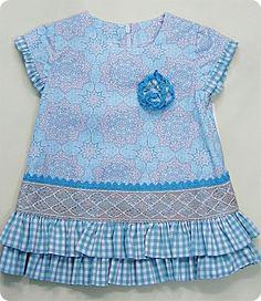 vestido vichy Peplum, Blouse, Fashion, Kids Fashion Boy, Fashion For Girls, Children, Dress, Moda, Fashion Styles