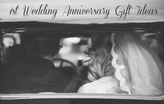 First Wedding Anniversary Gift Ideas | The Sweet Seed