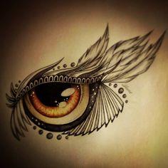 Brown Eye Tattoo Design by SlightlyAnnoyed-Cake on DeviantArt