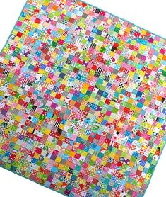 Tutorial - Postage Stamp Quilt by Red Pepper Quilts
