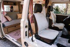 Elma, der Innenausbau: Vorher - Nachher — luna lene Vw T3 Westfalia, Vw Bus, Happy Campers, Vans, Camping, Welcome, Woman, Campsite, Van