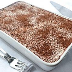 Tiramisu - easy 5-minutes, no-bake recipe.
