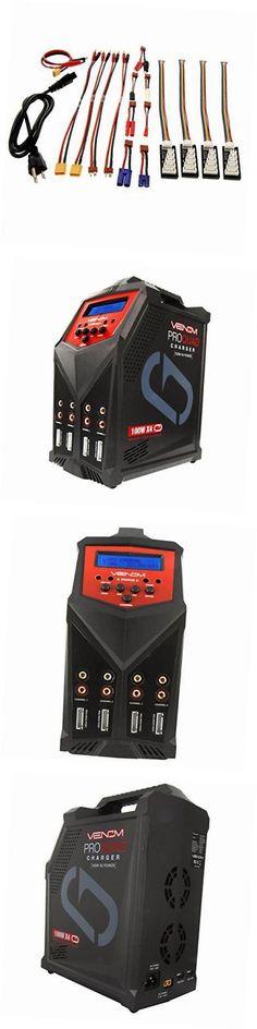 Chargers 56605: Venom Pro Quad 400 Watt (100W X 4) 7 Amp 4-Port Ac Dc Multi-Chemistry Lipo, -> BUY IT NOW ONLY: $301.29 on eBay!