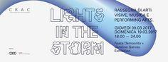 """LIGHTS IN THE STORM: Rassegna di arti visive, musica e performing arts presenta """"Fosca Democrito + Caroline Garvay exhibition"""".  Opening:  Giovedì 9 Marzo 2017 h. 18.00_24.00   BIO_ FOSCA DEMOCRITO nasce a Catanzaro nel 1985. Inizia il suo percorso artistico studiando recitazione a Roma e attraverso questo primo amore si avvicina alla fotografia. Si laurea in Arte Fotografica (BA Photographic Art) all'Universita' di Westiminster di Londra, approfondendo i temi della stampa analogica e…"""