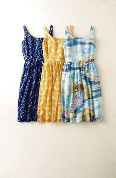 Vestidos de verano, summer dress ideas, estampado floral www.PiensaenChic.com