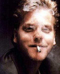 Love this pic of Kiefer Sutherland (Borrowed from my IG Friend kiefxr)
