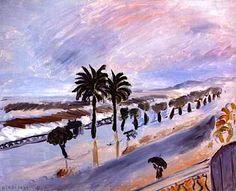Henri Matisse - Storm in Nice