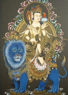 문수보살 Mañjuśrī bodhisattva