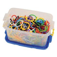 Clip Stick & Connectors (460 Pieces) kaplan