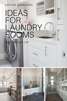 Are you having a laundry room design crisis? Get some inspiration with ideas for laundry room decor. Small Room Design, Laundry Room Design, Laundry Rooms, Laundry Tips, Mud Rooms, Small Laundry, Living Room Sofa, Living Spaces, Diy Décoration