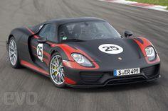 2013 Porsche 918 Spyder front roof on
