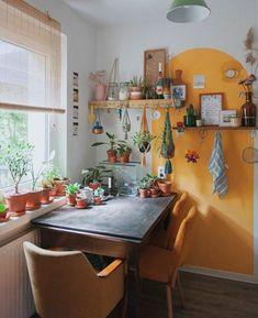 Cosy Kitchen, Home Decor Kitchen, Kitchen Ideas, Interior Design Boards, Dining Nook, Home And Deco, Dream Decor, Fashion Room, Furniture Decor
