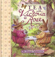 this is a sweet cookbook - seasonal tea menus