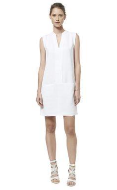Rebecca Taylor Shortsleeve Shirt Dress