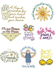 OregonPatchWorks.com - Sets - Friendship [I have this set]