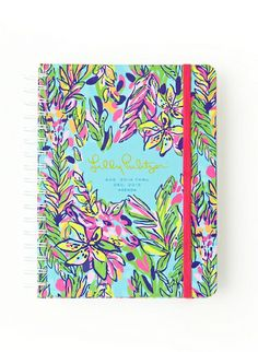 Lilly Pulitzer Large Agenda in Hot Spot. Find this at The Grey Fox, Tallahassee, FL