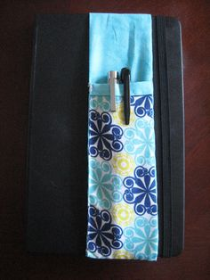 DIY sketchbook pencil holder for anyone who carries around a notebook or sketchbook