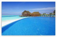 Resort Swimming Pool HD desktop wallpaper : Fullscreen : Mobile : Dual Monitor